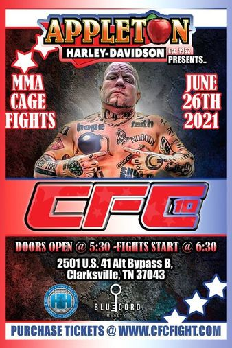 Johnathan Ivey's Cage Fighting Championships 10