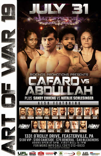 Art of War Cage Fighting 19