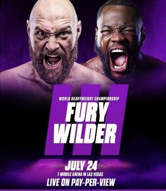 Fury vs. Wilder 3(Postponed)