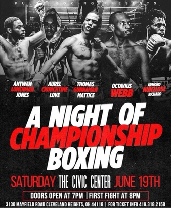 A Night of Championship Boxing