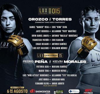 Lux Fight League 15