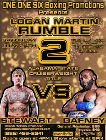 Logan Martin Rumble 2