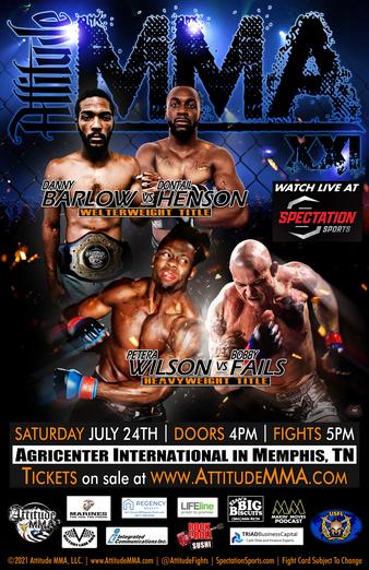 Attitude MMA Fights 21