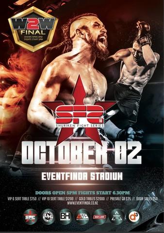 Shuriken Fight Series 10