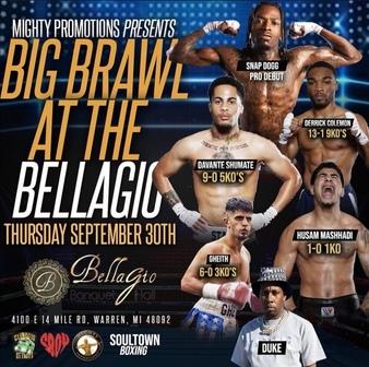 Big Brawl at the Bellagio