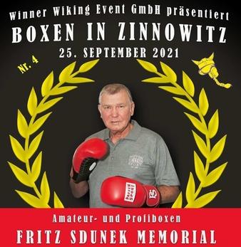 Fritz Sdunek Memorial