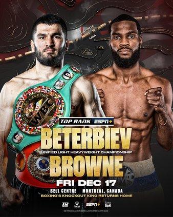 Beterbiev vs. Browne
