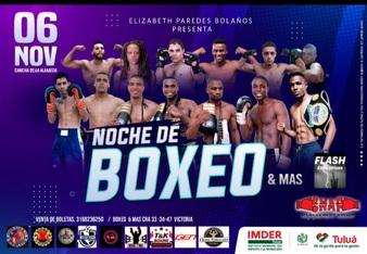 Noche de boxeo y mas