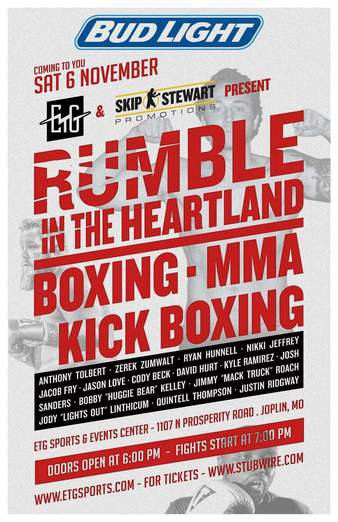 ETG Rumble in the Heartland