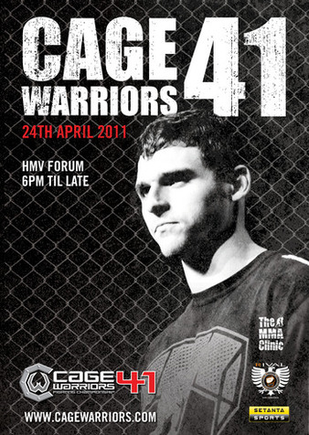 Cage Warriors 41