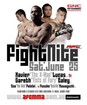 Australian FC Fight Nite 01